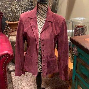 Vintage leather suede John Paul Richards jacket